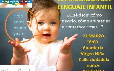 Escuela de Padres «Estimulación del Lenguaje Infantil»